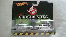 HOT WHEELS GHOSTBUSTERS ECTO 1 AND ECTO 1A W/RR TIRES DIECAST