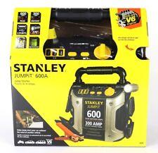 STANLEY Jump Starter: 600 Peak Battery Amps, 300 AMP Instant Starting Power