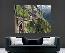 WHITE PASS RAILROAD ALASKA FOREST MOUNTAIN TRAIN POSTER ART IMAGE PICTURE PRINT