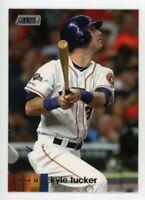 2020 Topps Stadium Club #241 KYLE TUCKER Houston Astros PHOTO BASEBALL CARD