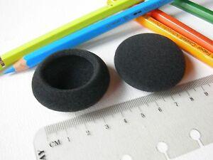 Coussinets rechange mousse oreillette casque p.e Logitech H555 Sony MDR-G55
