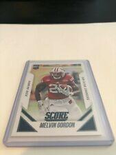 2015 Panini Score Football Melvin Gordon San Diego Chargers rookie card #380