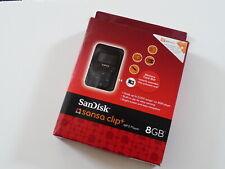 New factory sealed SanDisk Sansa Clip Plus Clip+ 8GB OOP