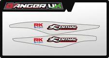 KTM SX SXF 125 250 350 450 2012-2018 SWING ARM GRAPHICS DECALS RENTHAL RK CHAINS