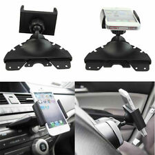 Car Auto CD Player Slot Smartphone Mobile Phone Mount Holder Cradle Universal