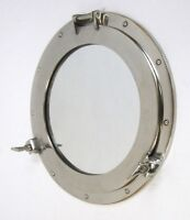 "17"" Porthole Window Aluminum~ Aluminum Porthole ~ Ship Porthole ~ Nautical Decor"