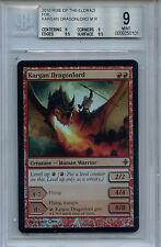 MTG Kargan Dragonlord BGS 9.0 Mint Rise o/t Eldrazi Foil Magic card Amricons