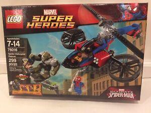 LEGO 76016 Spider-Helicopter Rescue Marvel Super Hero Green Goblin
