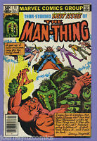 Man-Thing #11 1981 Dr. Strange Last Issue Chris Claremont Val Mayerik Marvel m