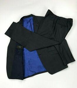 Men's Black & Light Grey Paul Smith London Suit 42R W36 L31 The Westbourne A
