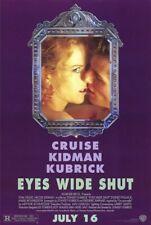Eyes Wide Shut Movie Poster 27x40 S/S Tom Cruise Nicole Kidman Stanley Kubrick