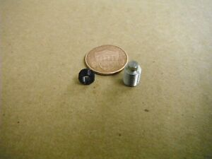 BRIDGEPORT MILL PART, milling machine M1137 COLLET ALIGNMENT & SET SCREW M1424