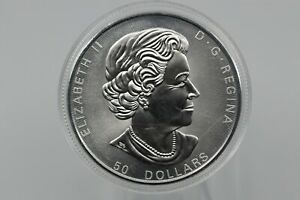 Canadian 9999 Fine Silver 10 Oz. Coin
