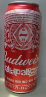 NEW  EMPTY  CAN BUDWEISER BEER  LIMITED EDITION LOLAPALOZZA ARGENTINA 2020