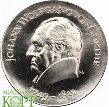 AA644) J.1525 DDR 20 Mark 1969 - 220. Geburtstag von Goethe - Silber
