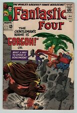 Fantastic Four 44 Gorgon 1st appear Lee Kirby Silver Age 1965 Very Good+ VG+