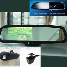 """Auto dimming rearview mirror+4.3"""" LCD+compass+temp+camera,fit outback,Legacy"""