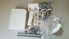 USED Nintendo Wii White Game Console Bundle