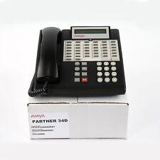 Partner 34D Euro Series 1 Black Avaya (3158-08) Phone - Bulk