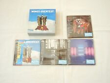 Paul McCartney (Wings) JAPAN 4 titles Mini LP SHM-CD PROMO BOX SET Vol 2