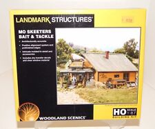 Woodland Scenics HO #5194 Mo Skeeters Bait & Tackle structure kit NEW