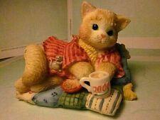 "Calico Kittens ""Creature Comforts"" dated 2000 Figurine #C10/494"