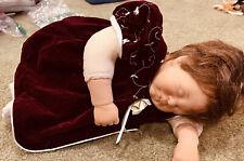 Lee Middleton Sleeping Baby 19� Vinyl Doll