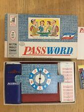 Password Game Vintage 1962