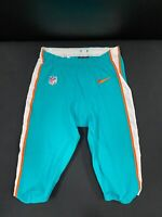 #43 MIAMI DOLPHINS NIKE GAME USED AQUA CURRENT STYLE PANTS 2019/2020 SEASON