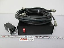 Sentech STC-400 CCD Camera with Control Unit & Cables 120VAC