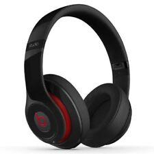*BROKEN* Beats by Dr. Dre Studio Headphones - BLACK - GENUINE - WIRED