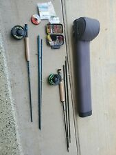 Fly fishing set Redington rod with Cross Water Real & Tfo rod with Behemoth reel