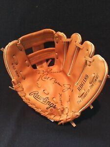 Rawlings Cal Ripken Hinged Pad Autograph Baseball Glove RBG 189 8 1/2  player