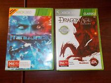 XBOX360 Mindjack and Dragon Age Origins PAL games