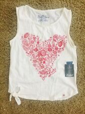 NEW Lucky Brand Girls Tank Top Size Small Adorable!!!