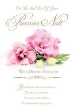 Sad Loss of Precious Nan  ~ Sympathy  Condolence Card  - FREE 1ST CLASS POSTAGE