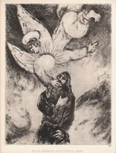 MARC CHAGALL - BIBLE * HELIOGRAVURE from VERVE 1956 * very rare - draeger freres