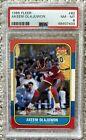 1986 Fleer Basketball #82 AKEEM OLAJUWON Rookie Card PSA 8 RC