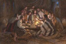 Jon McNaughton LAST SUPPER 16x24 Signed Biblical Art Print Jesus Christ