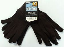 HandMaster Utility Grade All Purpose Gloves 2 Pack Color Brown