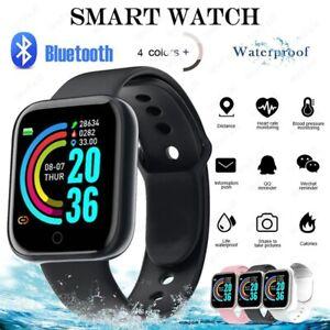 D20 Bluetooth Smart Watch Unisex Sport Fitness Tracker Bracelet ios & android