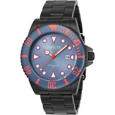Invicta Pro Diver 90300 Men's Round Red Date Analog Black Watch