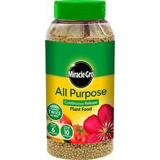 Miracle-Gro All Purpose Soluble Plant Flower Food 10 Nutrient Twice as Big 1kg