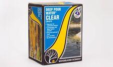 Woodland Scenics CW4510  Deep Pour Water - CLEAR - NIB