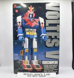 Voltes V MINTY W NICE Box 100% Complete Godaikin 1982 Bandai Popy Chogokin