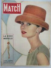N° 360 PARIS MATCH 1956 french magazine LA MODE NOUVELLE AUDREY HEPBURN  L93