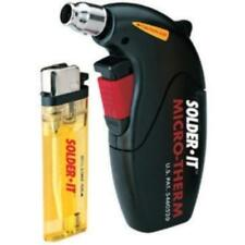 Solderit MJ600 Heat Gun, Refillable Butane, Automatic Ignition, Flameless, Ideal