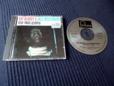 CD Art Blakey's Jazz Messengers 1958 Paris Olympia Fontana hard-bop