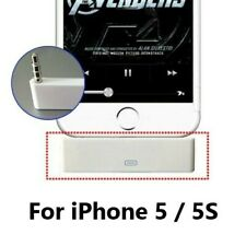 30pin to 8pin Lightning male Audio Adapter Dock for iPhone 5 5S 5C