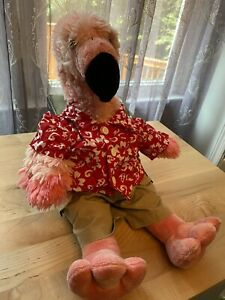 Build A Bear Pink Flamingo Stuffed Animal - Two Piece Outfit Included!